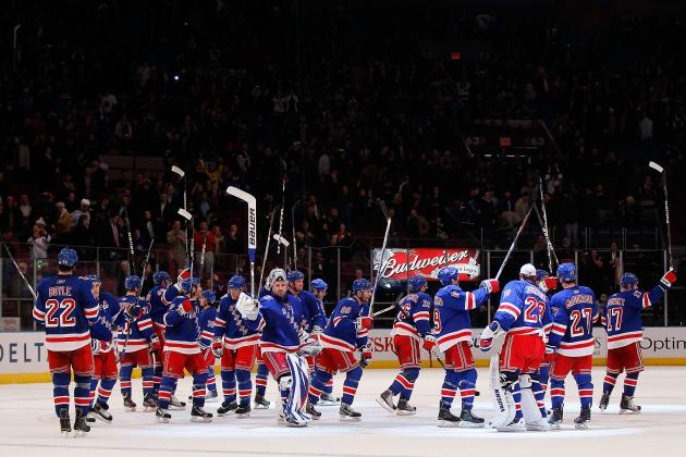 New York Rangers' 2012-13 Schedule: 10 Games to Watch