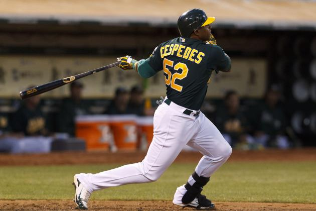 Yoenis Cespedes: Is the A's Cuban Star Destined for an Injury-Prone Career?