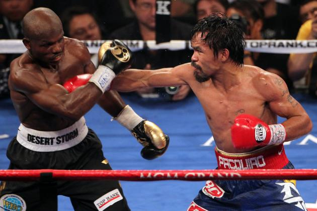 Pacquiao Could Face Mayweather on 45-45 Split with Remaining 10%  to Winner