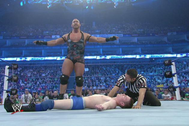WWE News: Ryback Comments on Comparisons to Goldberg, Rob Van Dam