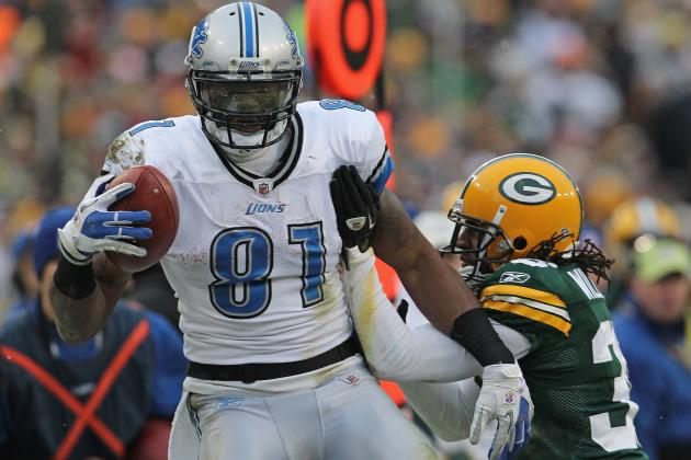 "Calvin Johnson Is ""Stronger and Faster"" This Year"