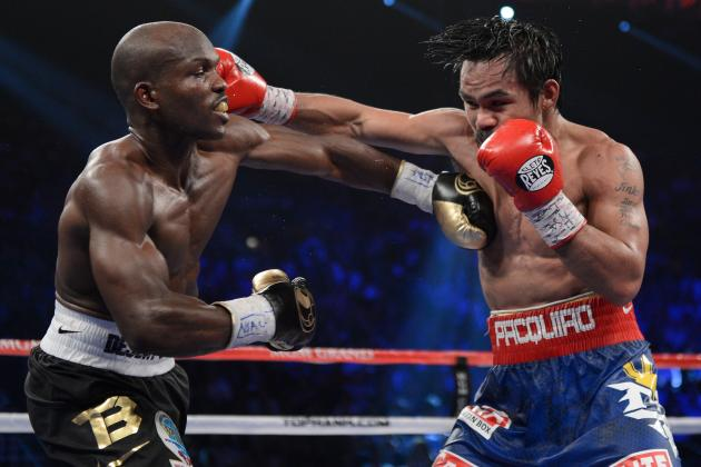 Manny Pacquiao: Rematch with Timothy Bradley Would Be Huge Draw for Boxing