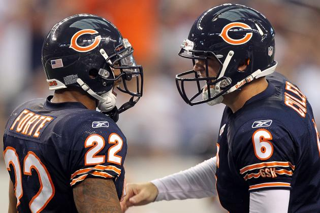 Forte Not Thrilled About Cutler Discussing His Contract