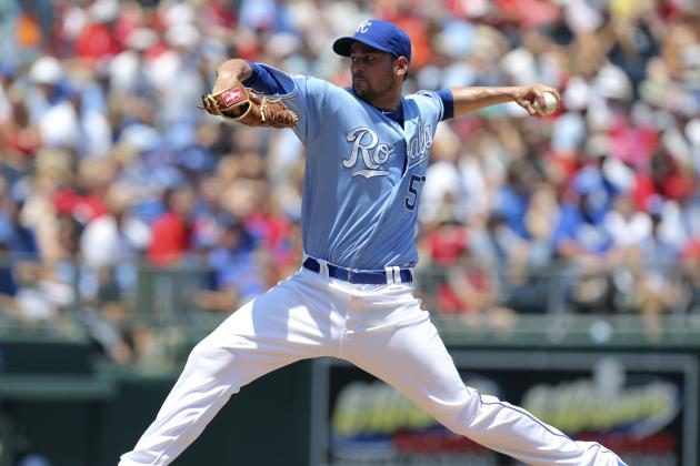 Jonathan Sanchez: Kansas City Royals Lefty Wins AL Worst of the Night Award