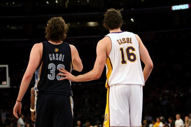 NBA Rumors: Pau Gasol Would Make Grizzlies Contenders in West
