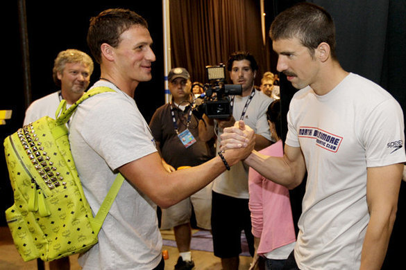 Michael Phelps vs Ryan Lochte: Showdown Will Foreshadow Olympic Glory