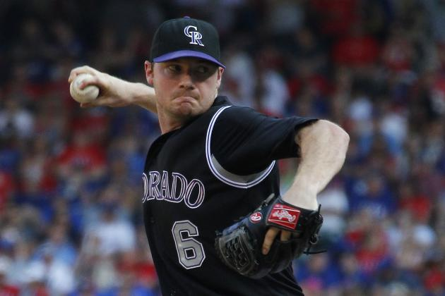 Rockies Option RHP Alex White
