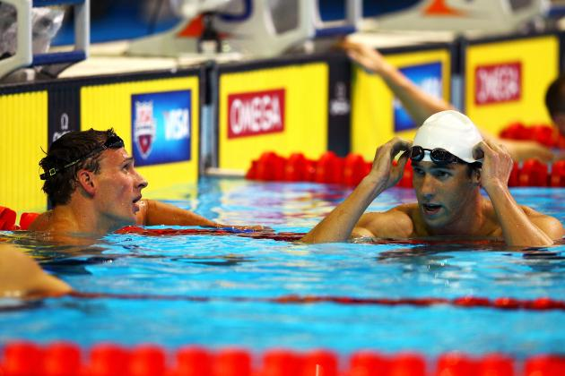 Ryan Lochte Tops Michael Phelps in 400 IM Final at US Qualifiers