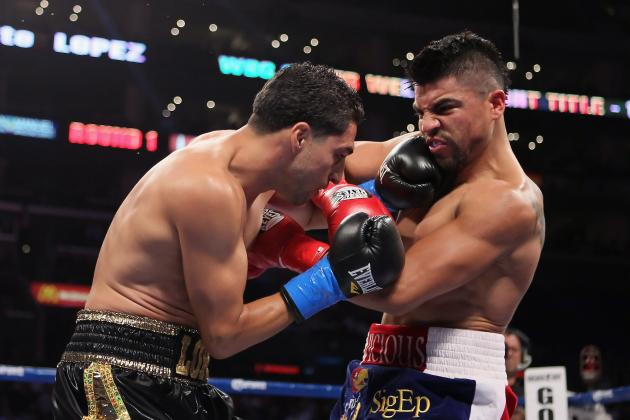 Floyd Mayweather's Win over Victor Ortiz Looks Less Impressive After Lopez's TKO