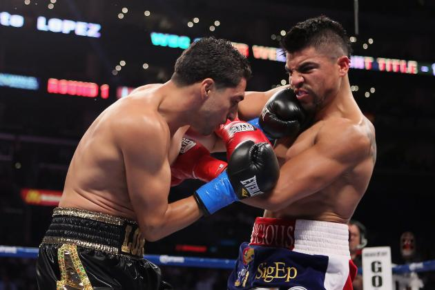 Victor Ortiz Wants Rematch with Josesito Lopez Once Broken Jaw Heals