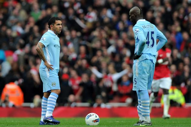 Carlos Tevez vs. Mario Balotelli: Who's More Important for Man City's Future?