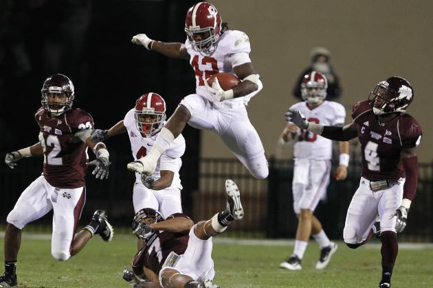 College Football 2012 Top 150 Players: No. 92 Eddie Lacy, Alabama RB