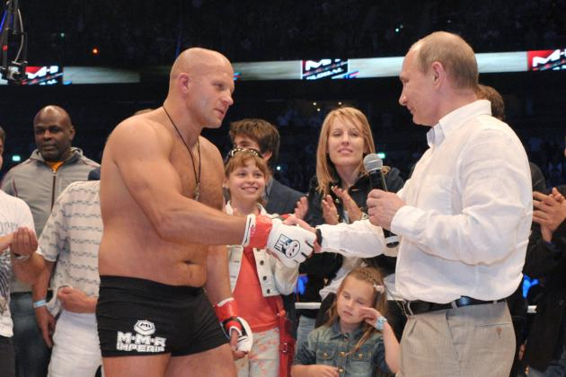Fedor Emelianenko Says Anything Is Possible... Even a Brock Lesnar Fight