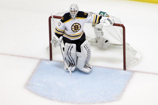 Thomas Waives No-Trade Clause, Could Give B's Chance to Dump Goalie's Contract