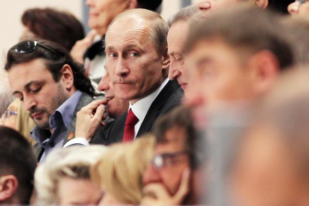 Euro 2012: Russia Chief Quits After Not-Scary-at-All Meeting with Vladimir Putin