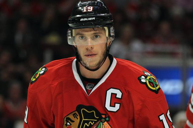 Toews Says He's Completely over Concussion
