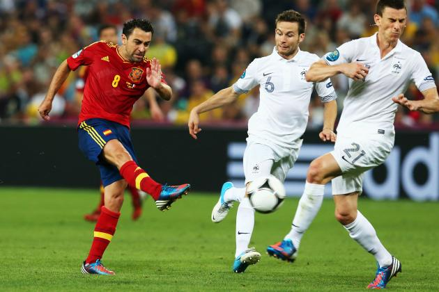 Portugal vs. Spain Live Stream: Xavi and Players You Won't Want to Miss