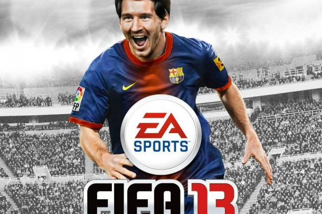 FC Barcelona: Lionel Messi on the Cover of FIFA 13