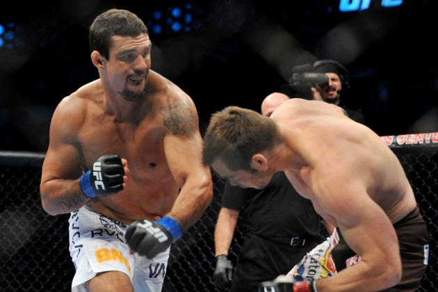 Vitor Belfort Wants Michael Bisping, Then a Title Shot