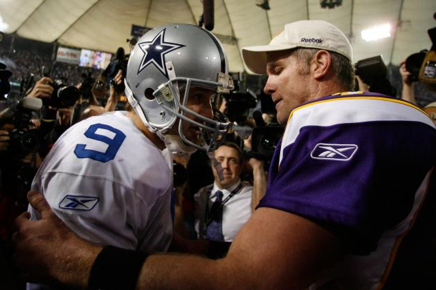 Brett Favre: Tony Romo Is the Quarterback Most Like Me