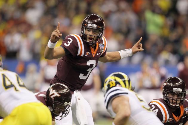 Logan Thomas Has Work to Do Before He Can Be the Top 2013 NFL Draft Quarterback