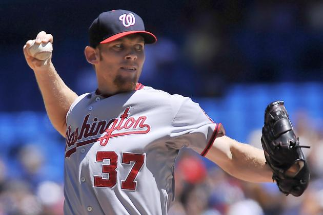 Should Nats Use Stephen Strasburg as Pinch-Hit Weapon After He's Shut Down?