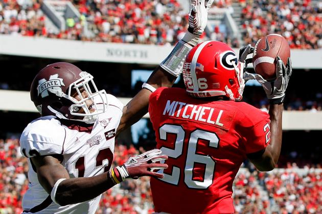 SEC Football Morning Coffee: Malcolm Mitchell Back at Wide Receiver for Georgia
