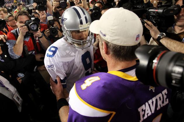 Dallas Cowboys: How Much Does Tony Romo Really Resemble Brett Favre?