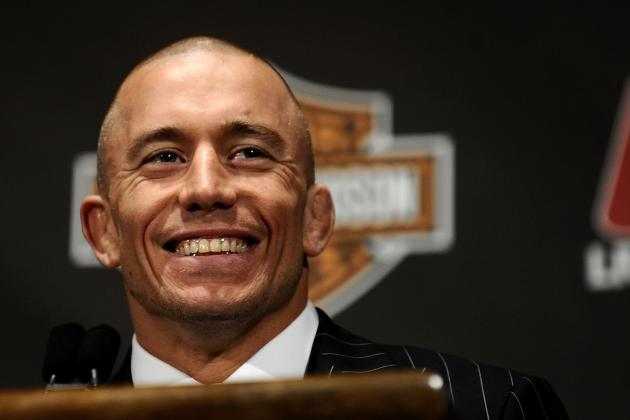 UFC News: Georges St-Pierre Back to Full-Time Training