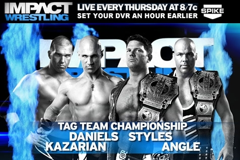 Impact Wrestling Preview: Tag Team Title Match, Bound for Glory Series and More