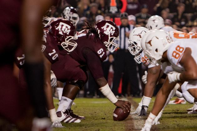 College Football 2012 Top 150 Players: No. 90 Patrick Lewis Texas A&M C
