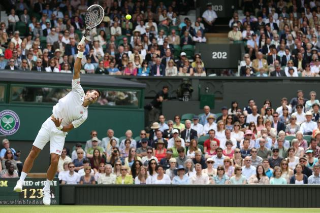 Wimbledon 2012: Novak Djokovic, Rafael Nadal and Roger Federer on Path to Final