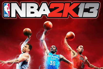 Here Is the Cover for NBA 2K13 Featuring Durant, Griffin and Rose