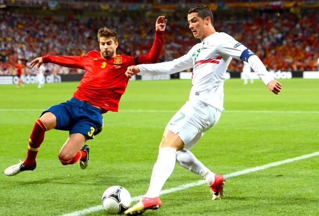 Semi final: Portugal 0 – 0 Spain