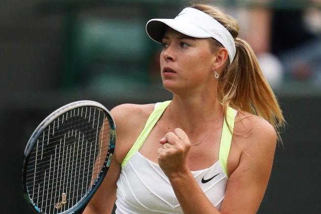 Wimbledon 2012: Maria Sharapova Tested, but Up a Set and 3-1 When Play Suspended