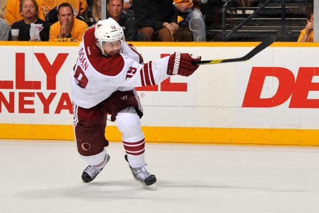 NHL Free Agency: Losing Shane Doan a Massive Blow to Coyotes on and off Ice