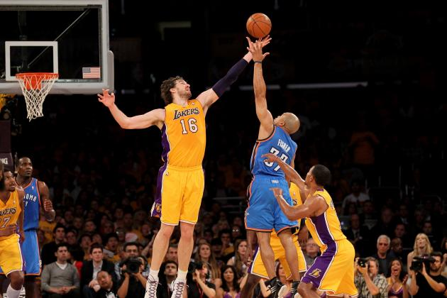 Lakers Shopping Pau Gasol for Top 10 Pick, Should Raptors Be Interested?