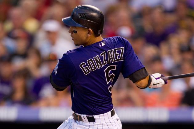 Rockies GM O'Dowd: 'We're Not Trading Carlos Gonzalez'