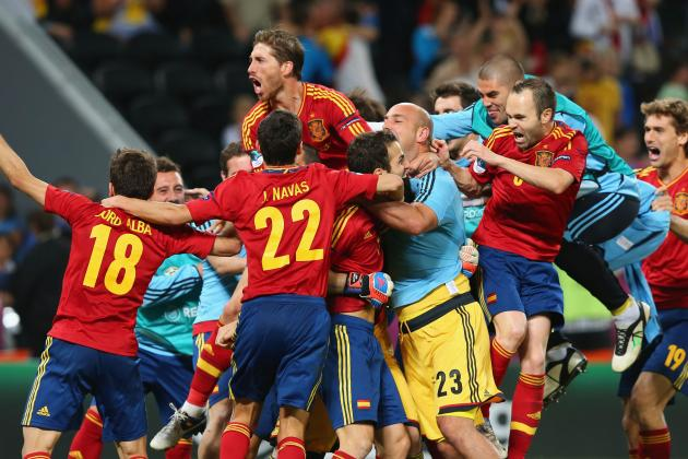 Spain Advances to Euro 2012 Final with Penalty-Kick Victory over Portugal