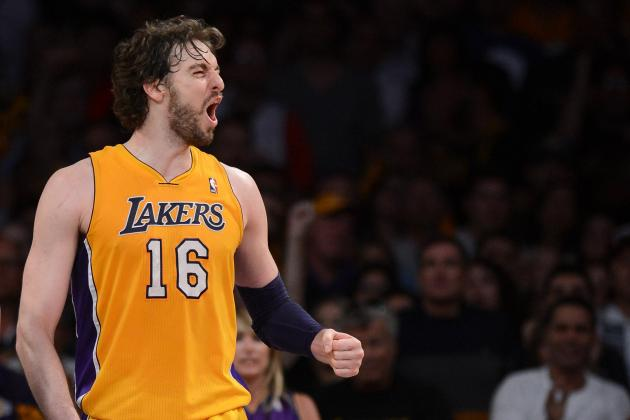 Pau Gasol Rumors: Why Lakers Star Won't Net a Top-10 Pick