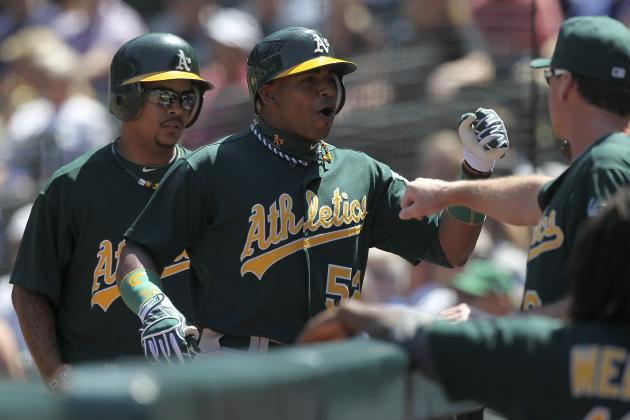 Jarrod Parker, Yoenis Cespedes Help A's Win Series over Seattle with 2-1 Victory