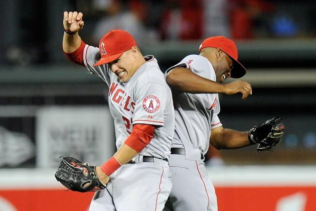 Angels Pile Up 13 Runs, 16 Hits in Rout of Orioles