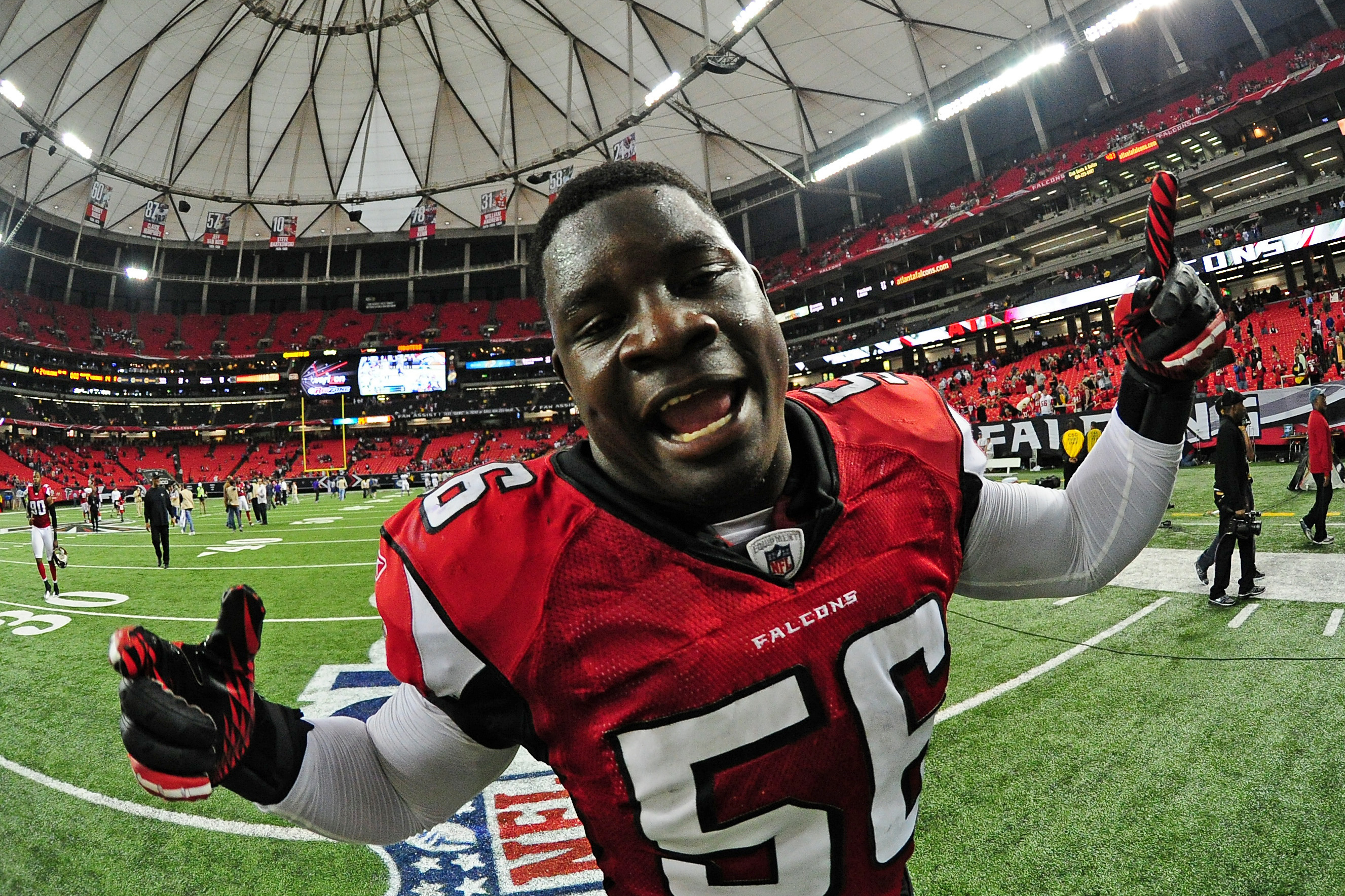 Jerseys NFL Sale - Player Rater 2012: Follow the Clues to the Atlanta Falcons LB Sean ...