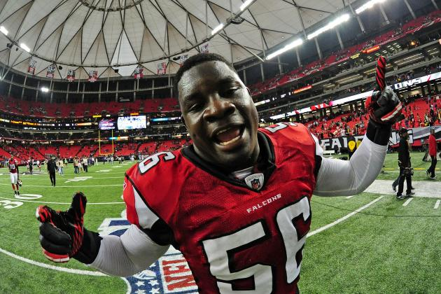 Player Rater 2012: Follow the Clues to the Atlanta Falcons LB Sean Weatherspoon