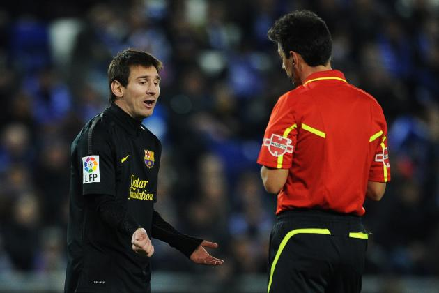 Lionel Messi Is So Cute When He's Lashing Out Against Losing