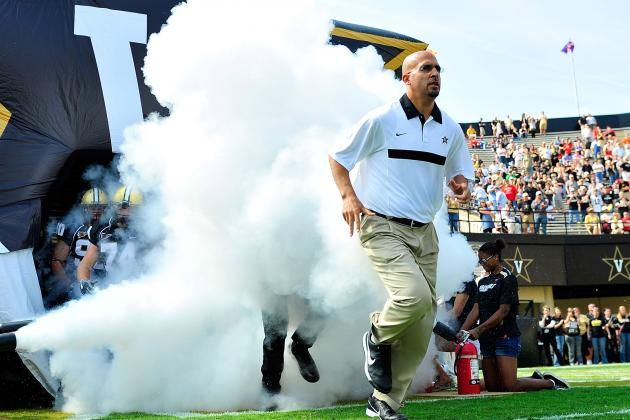 CFB Recruiting 2013: Vanderbilt's Coach Revitalizing Commodores' Recruiting