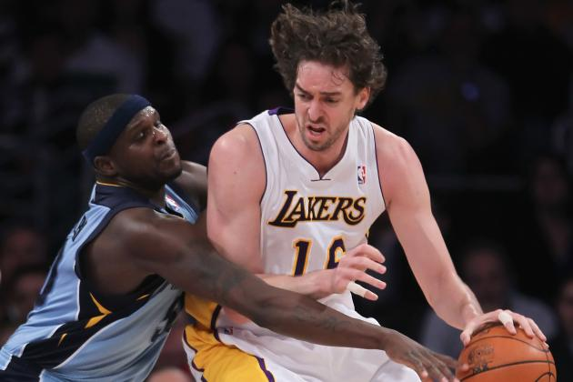 NBA Trade Rumors: Grizzlies Reportedly Offering Zach Randolph for Pau Gasol