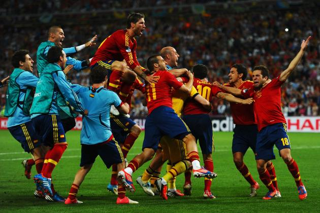 Euro 2012: Observations from Spain's Semifinal Win over Portugal
