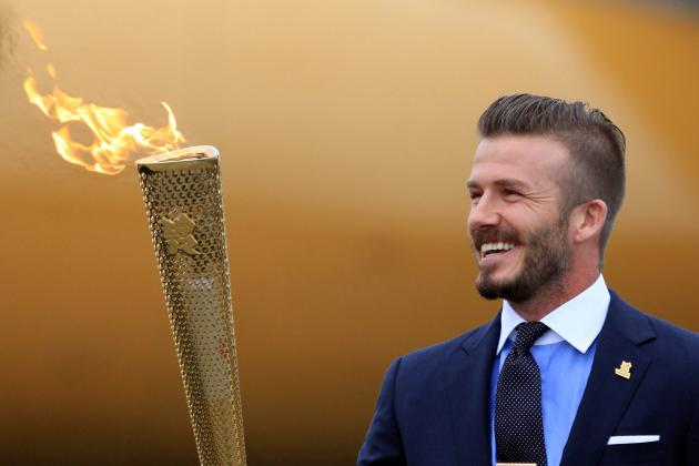 David Beckham: LA Galaxy Star Left out of Great Britain's Olympic Team