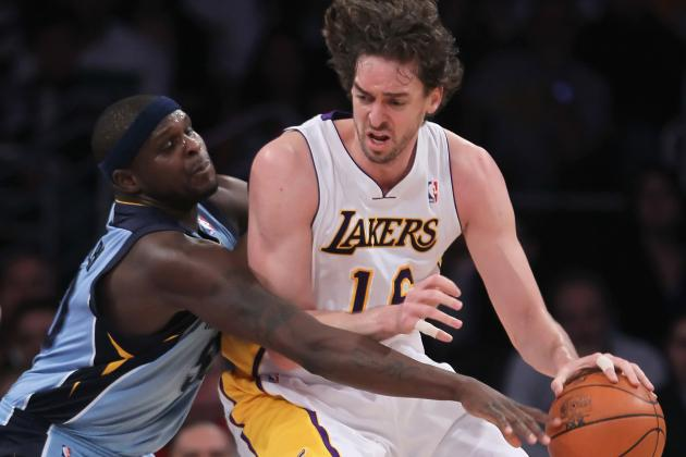 Pau Gasol Trade Rumors: Grizzlies Wise to Offer Zach Randolph for Lakers Star